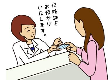 患者様との応対イメージ